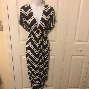 Dresses & Skirts - Blue and white maxi dress